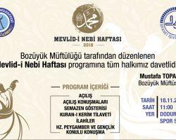 MEVLİD-İ NEBİ HAFTASI